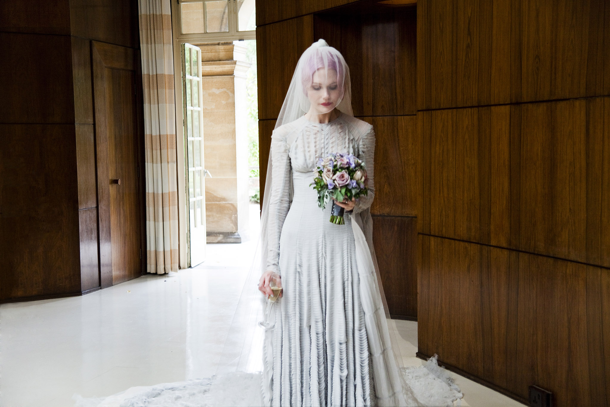 Pale_grey_slashed_chiffon_wedding_dress__designed_by_Gareth_Pugh_and_veil_by_Stephen_Jones_2011._Courtesy_of_Katie_Shillingford._Photo__Amy_Gwatkin