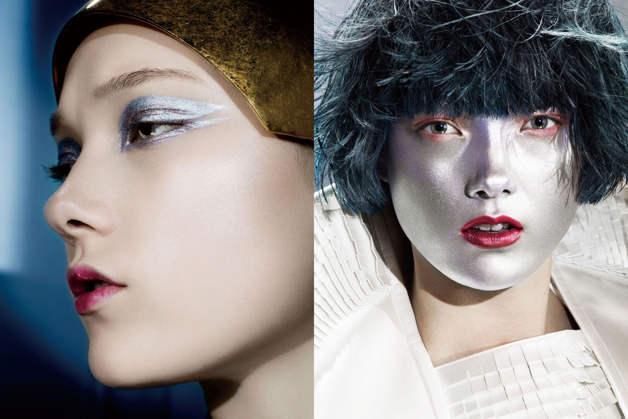 vogue china june 2014: soft metallic图片