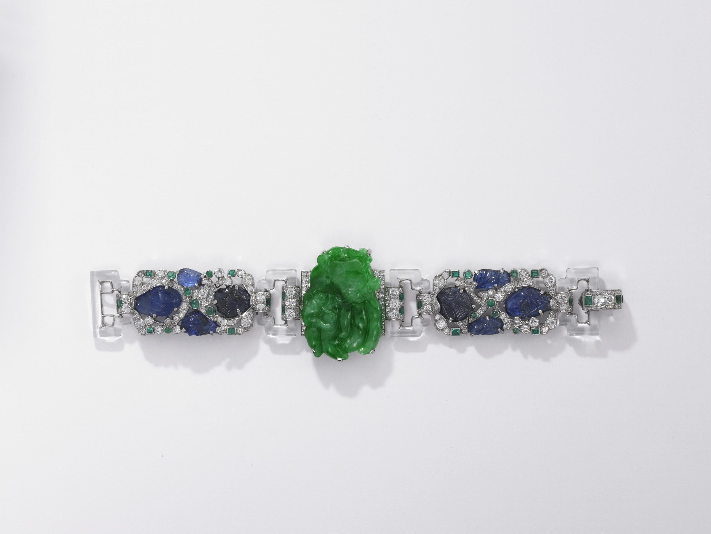 Bracelet_ Cartier New York_ 1927 _jadeite_
