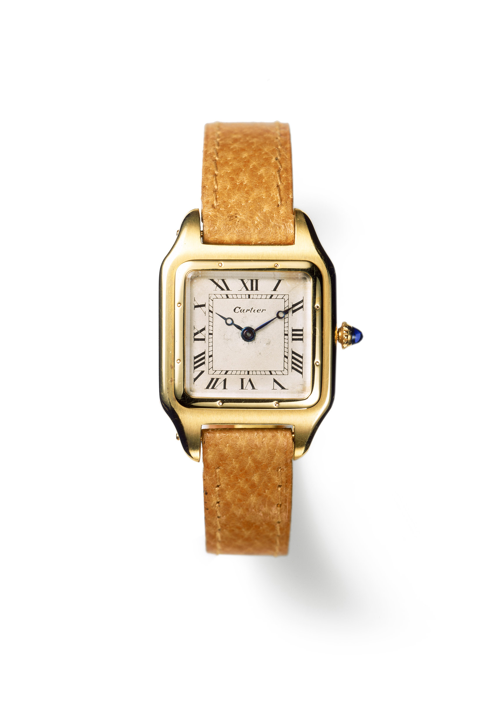 Santos wristwatch _c_ Cartier