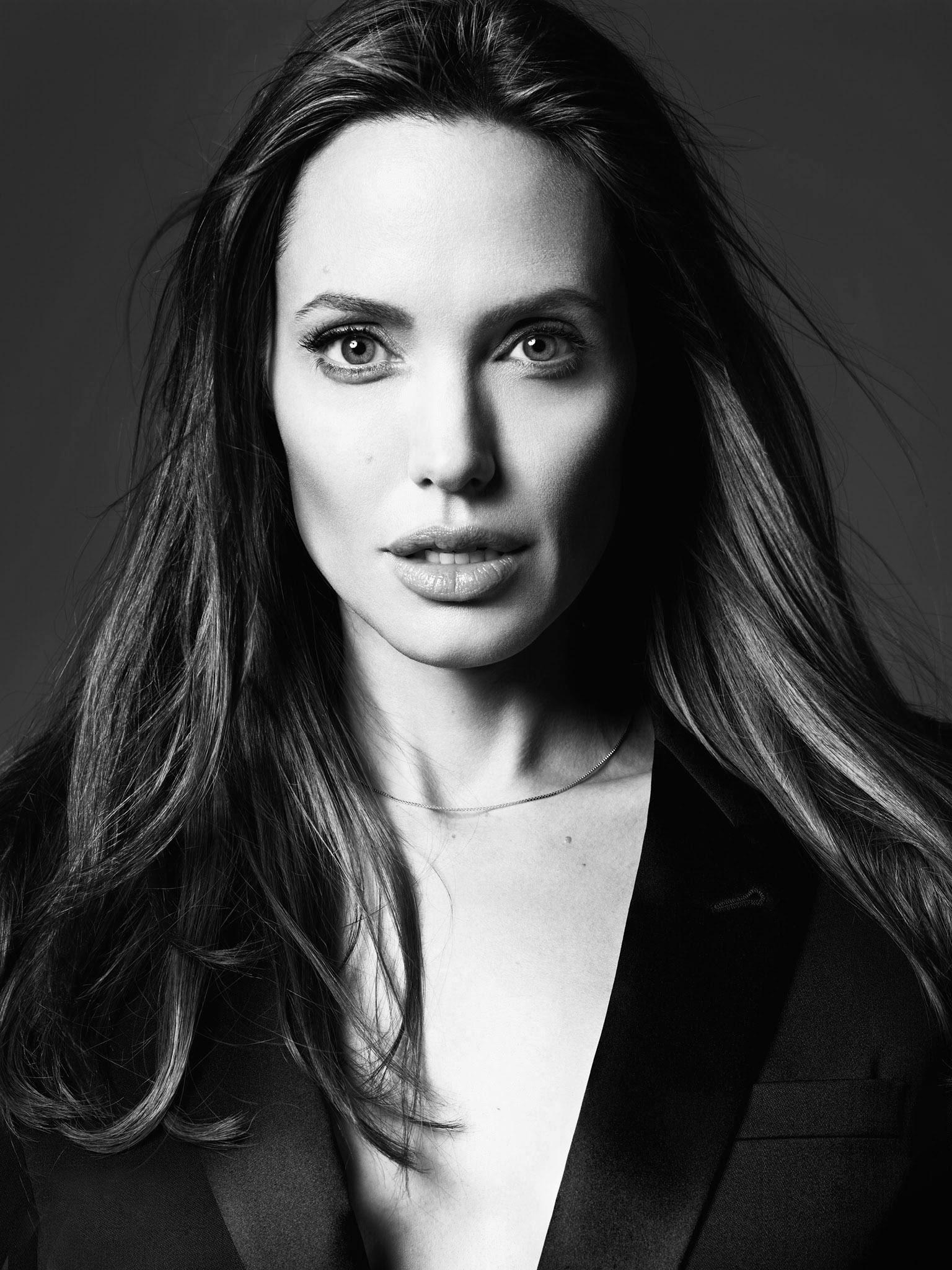 德国_Angelina Jolie by Hedi Slimane at Elle US June 2014 – YESON FASHION