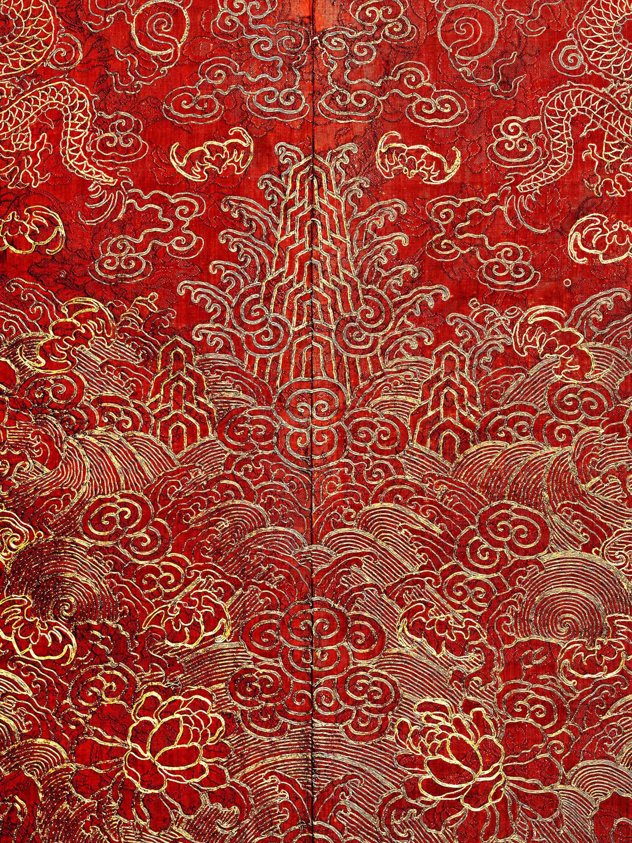 02. Detail of Court Robe (Chinese)