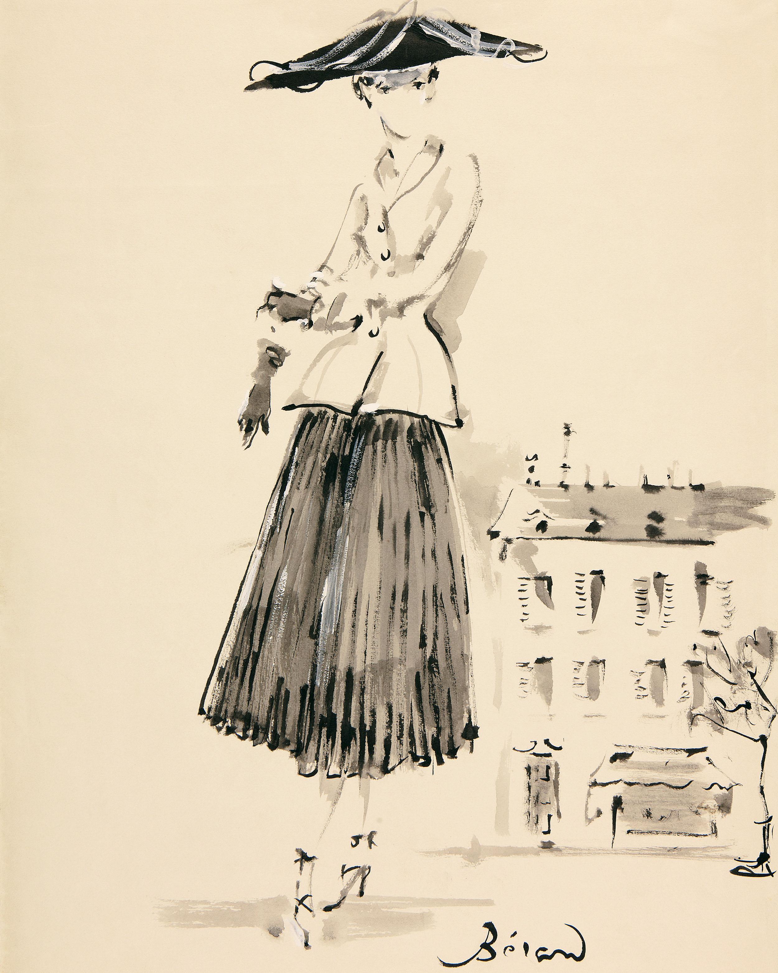 时装杂志_展览:Dior 迪奥 新风貌革命 – YESON FASHION