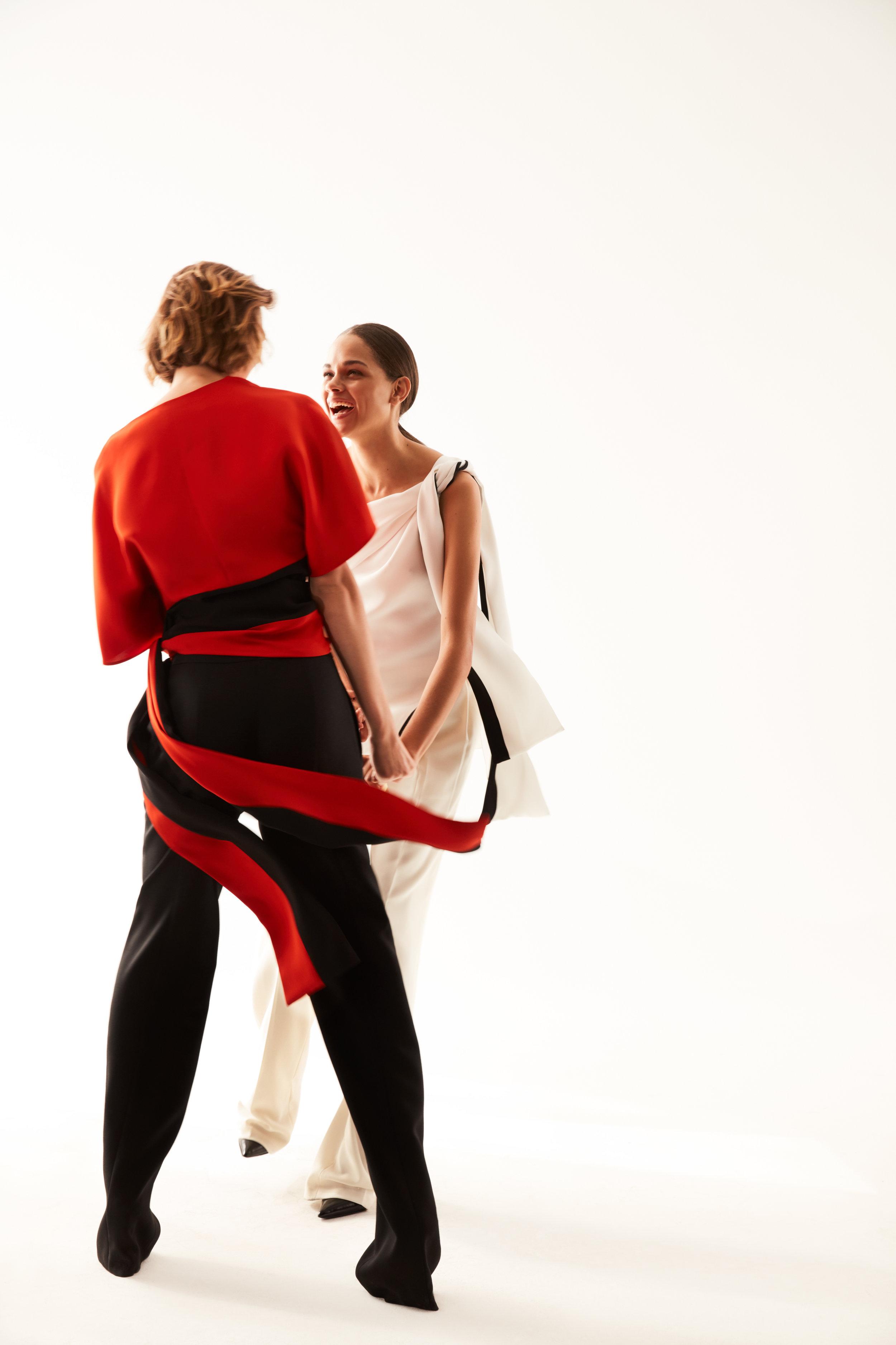 女性服装搭配杂志_Narciso Rodriguez Spring 2018 – YESON FASHION